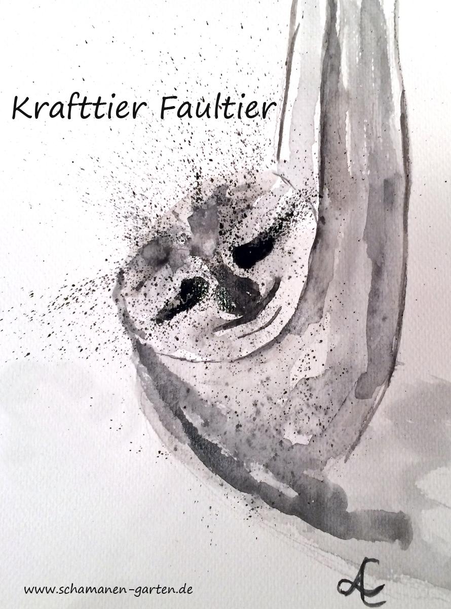 Krafttier Faultier