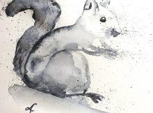 Krafttier Eichhörnchen