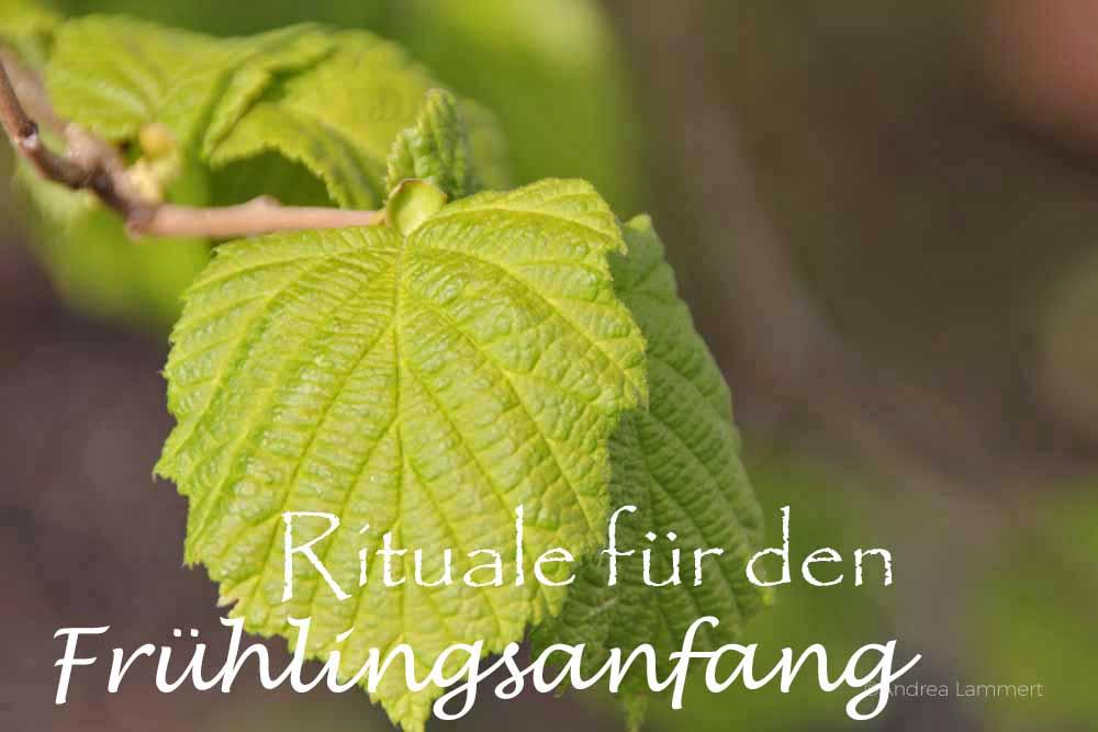 Rituale Frühlingsanfang schamanisch feiern