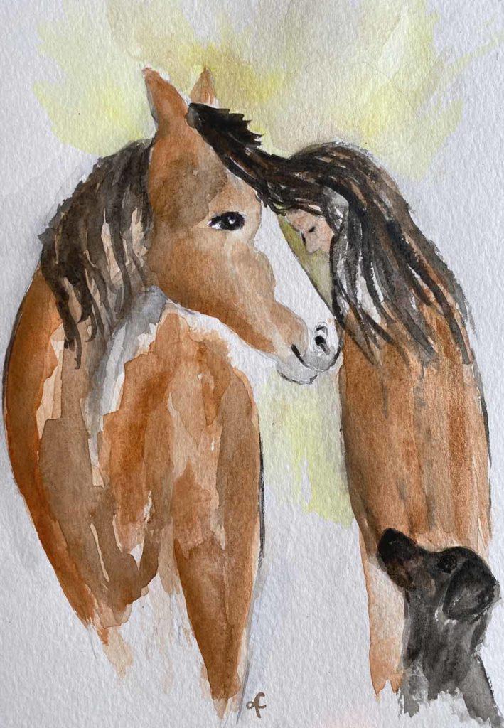 Pferdegöttin Epona