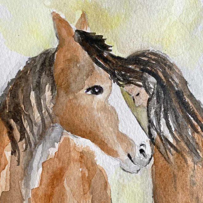 Epona-Pferdegöttin